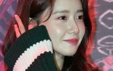 윤아, 추운 날씨에 드러낸 '각선미'