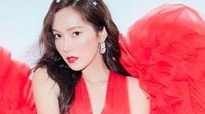 <strong>제시카, 빨간 드레스로 고혹미 뽐내며</strong>