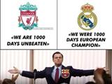 리버풀, 레알과 <br/>바르셀로나의 차이