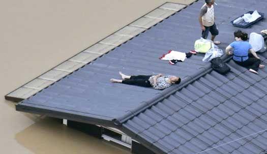 1013mm 기록적 폭우가 할퀴고 간 일본 재난 현장