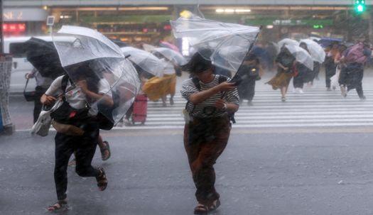 일본 상륙 '종다리' … 비 몰고 올까?