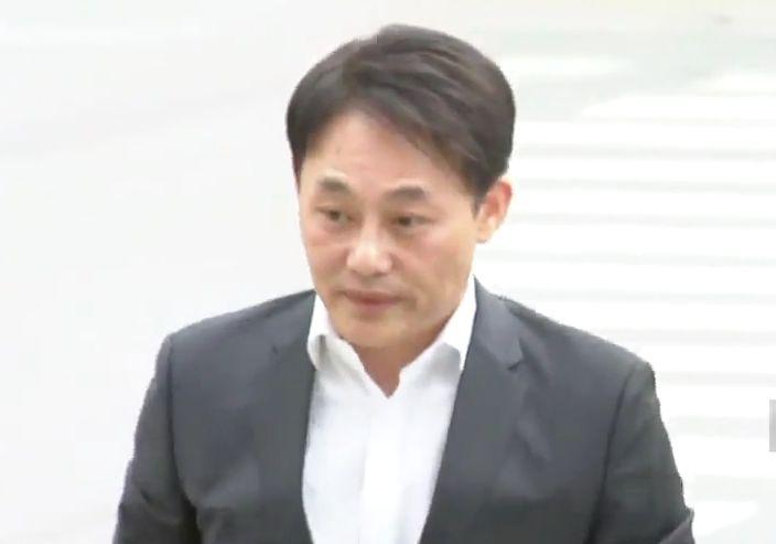 '보물선 사기 의혹' 최용석 신일그룹 대표 경찰 출석