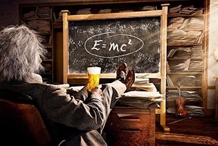 칼스버그 맥주 광고에는 왜 아인슈타인이 나올까?