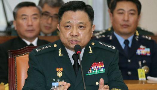 """박한기 후보, """"현존하는 분명한 적은 북한"""""""