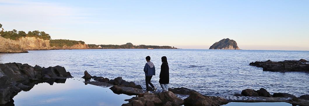 서귀포 구석구석 훑는 걷기여행 길