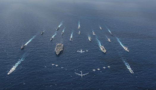 美·日, 태평양서 '예리한 칼' 합동 훈련