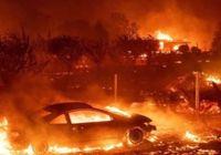 미 캘리포니아 산불 3개 동시에…9명사망·35명실종·15만명 대피