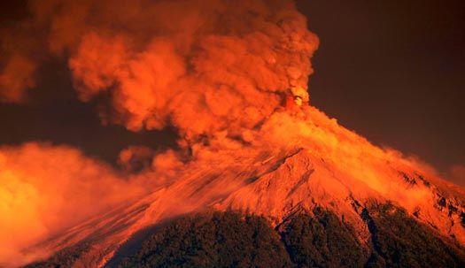 올해 벌써 5번 분화한 과테말라 푸에고 화산