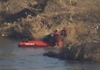 헬기 한강 추락, 탑승자 3명 중 1명 사망