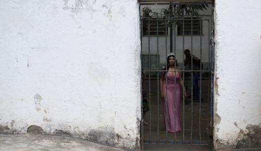 수감복벗고 드레스! 브라질 교도소 미인대회