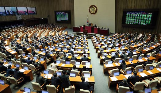 야3당 반발 속 2019 예산안 국회 통과