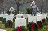 美 전국 국립묘지에 화환전사자 희생정신 기렸다