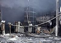 천안 라마다호텔 화재 불 끄던 직원 1명 사망, 19명 부상