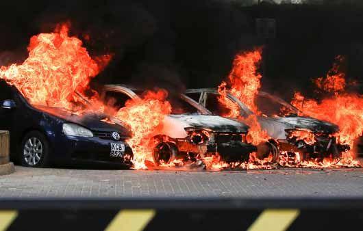 케냐 나이로비 아비규환, 무장단체 테러