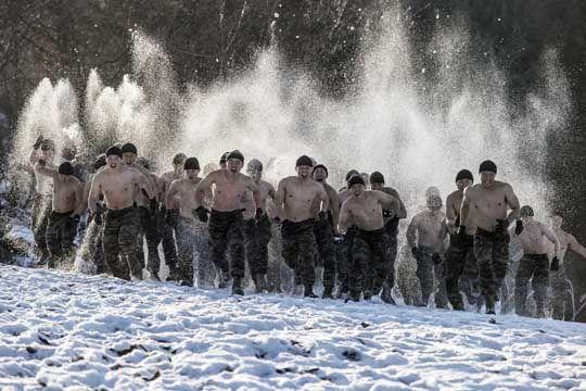 402km 무장 행군. 해병대 동계 훈련