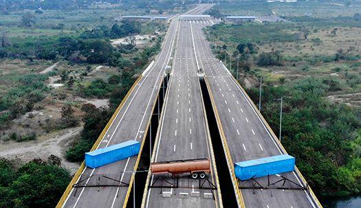 국제원조가 두려워, 마두로 대통령 국경폐쇄