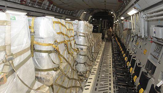 미국, 베네수엘라 구호품 180t 공수