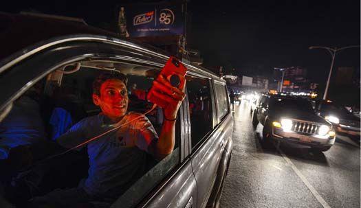 'Blackout', 혼돈의 베네수엘라 암흑 속으로