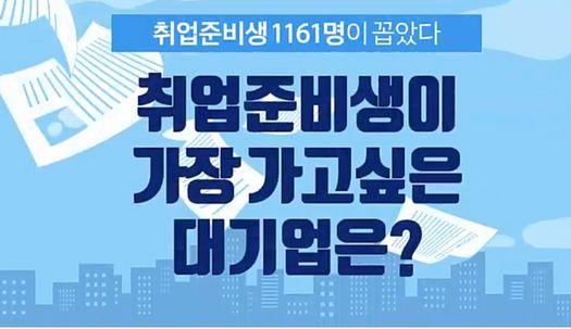삼성 제치고 입사 희망 1위된 기업은?