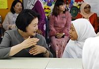 """김정숙 """"남편 은퇴 후 말레이시아에 많이 오고 싶다"""""""