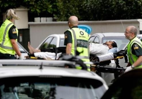 생중계로 게임하듯 탕·탕·탕뉴질랜드 '테러 라이브' 경악