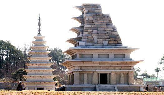 국보11호 미륵사지 석탑, 18년만에 다시 공개
