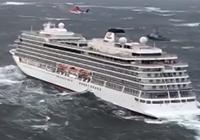 노르웨이서 1300명 탄 크루즈선 표류하다 인근 만에 정박