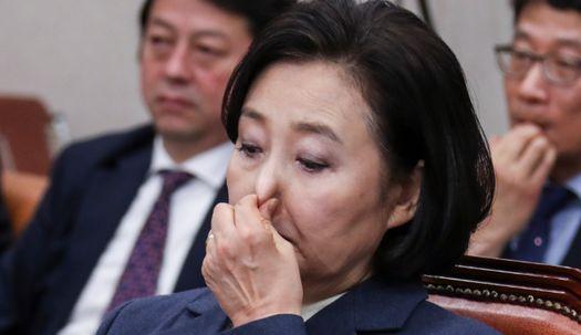 여야 의원 고성이 난무한 박영선 인사청문회