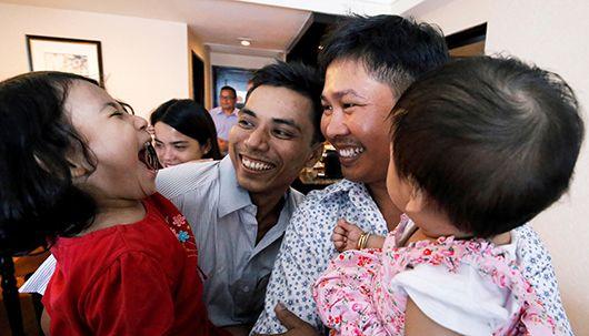 '로힝야 학살' 취재기자들, 511일만에 석방