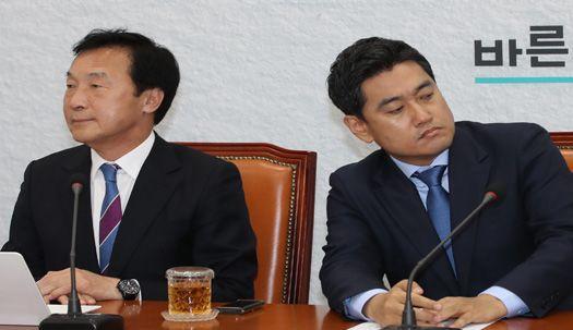 """신임 오신환, 손학규 면전에서 """"용단 내리셔야""""라며 사퇴요구"""