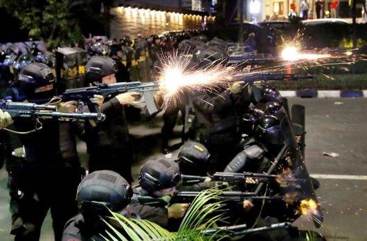 인니(印尼) 대통령 선거  6명 숨지고 200여명 부상