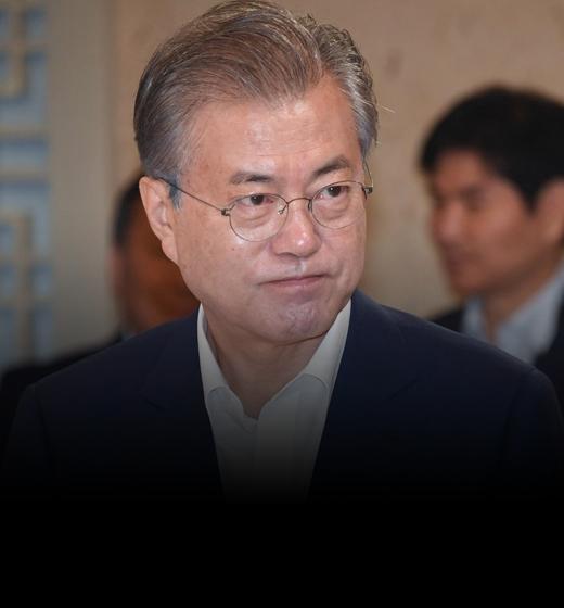 """참모들과 상춘재 번개오찬""""文, 日대응에 '아차' 싶었다"""""""