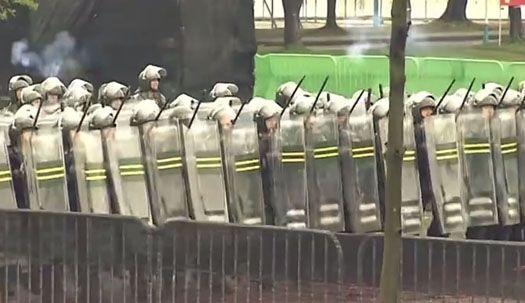 홍콩 주둔 중국군, 시위 진압훈련 영상공개