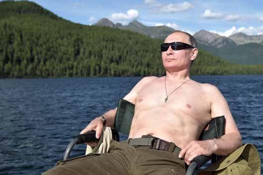 20년 집권 푸틴의 전략, '강하고 섬세한 남자'