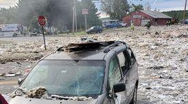 전쟁터 방불케, 미국 메인주 가스폭발 사고