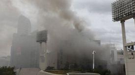 동대문 제일평화시장 화재…잔불 정리하다 다시 번졌다