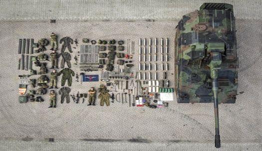 세계 군인·경찰·소방관의 장비 자랑, '테트리스 챌린지'를 아시나요?