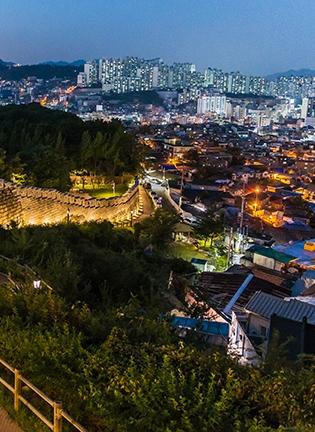 가을이 좋은 서울 공원, 비교 체험 낮 vs 밤