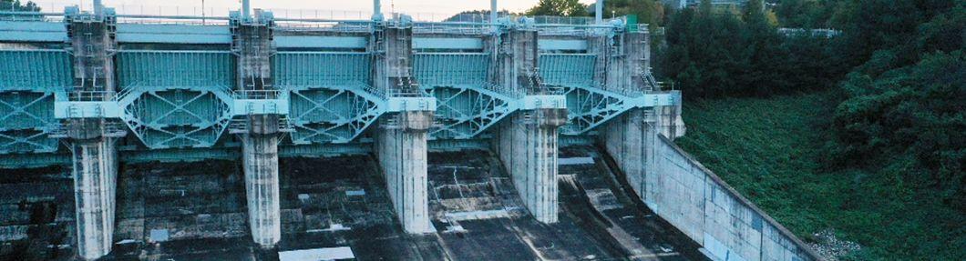 댐 안전점검 더 꼼꼼하게… 드론, 진안 용담댐으로 출동