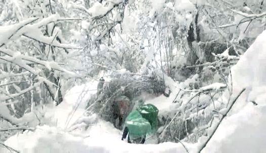 앞엔 실종 교사 4명 하산중이었다···네팔 등반팀이 찍은 영상