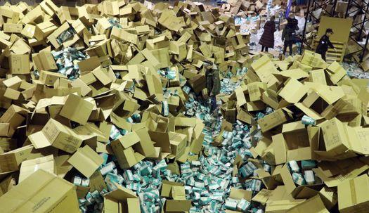 '순례길' 스페인 산티아고 데 콤포스텔라에서 마스크 200만장 도난 사건 발생