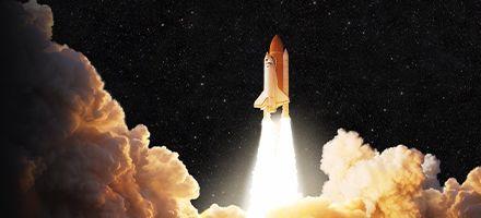민간 우주선이 ISS 가는 세상