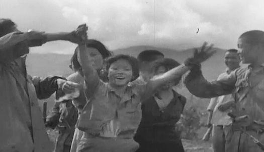 """만삭 위안부 구출 순간 """"만세!""""···영상으로 보는 그날의 소녀들"""