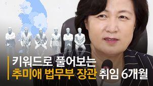 추미애·윤석열 격돌 '정점' 찍었다…6개월 갈등의 전말