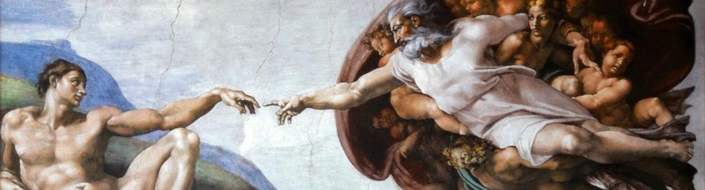 [더오래]브릭 12만개로 재현한 실물 크기의 '아담의 창조'