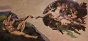 브릭 12만개로 재현한 실물 크기의 '아담의 창조'