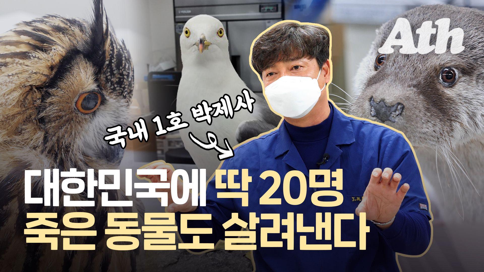 """1호 박제사 당황케한 전화 """"10년 키운 개 죽었는데 가능해요?"""""""