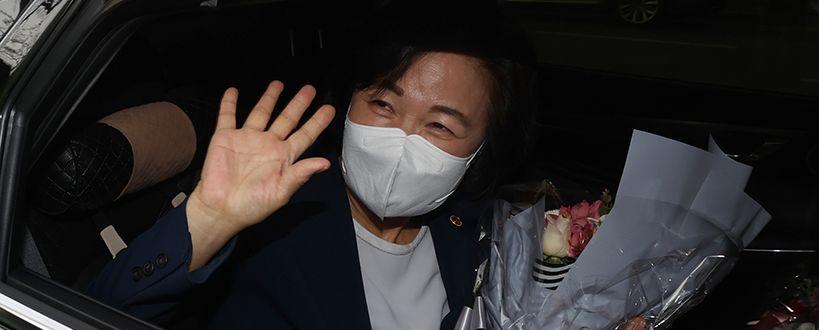 """""""검찰통제 선례 만들었다"""" 자평 뒤 떠난 秋"""