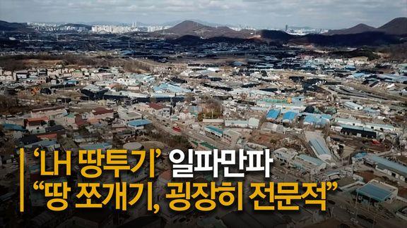"""""""땅 쪼개기, 굉장히 전문적""""···LH 의혹 '키맨' 2인이 주도했다"""