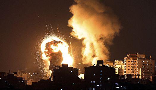 이틀째 하마스 수 백발 로켓포 공격에 이스라엘 사망자 발생